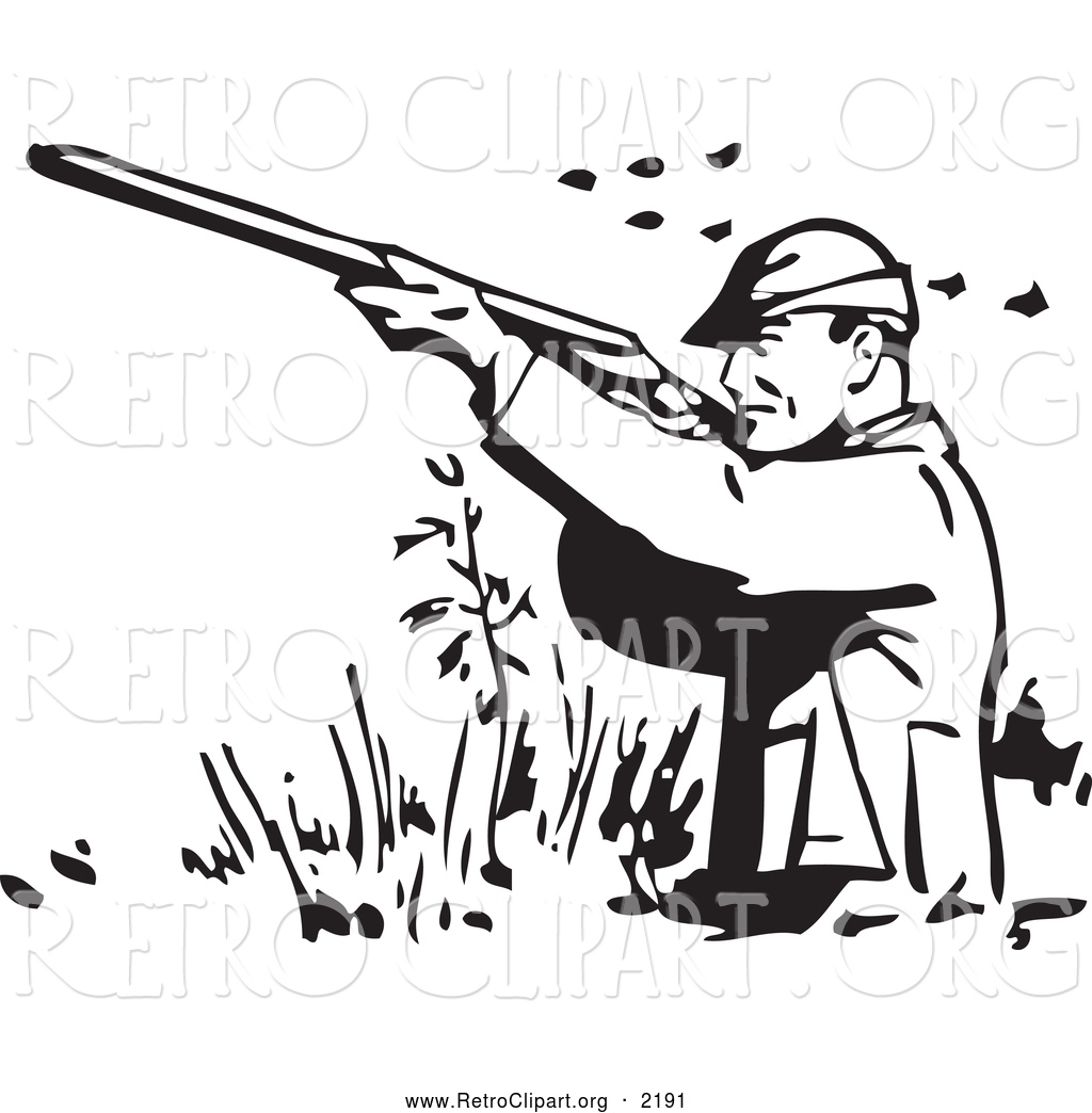 Duck Hunting Clip Art Vectors Cliparts