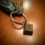 Apple II Keyboard Pendant (or keychain)