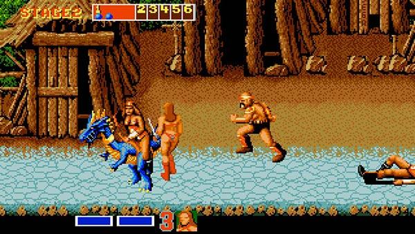 Amiga Gameplay Golden Axe