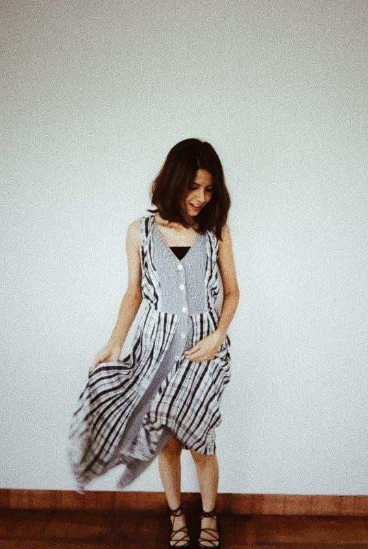 Gingham Vintage Dress