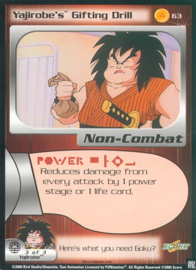 "One of the stingiest characters has two ""gifting"" cards, yet no sword cards despite arguably being the best swordsman in the series?"