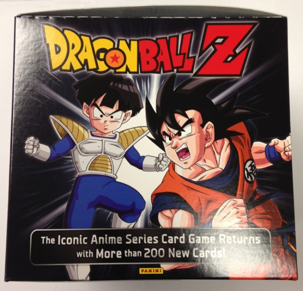 Panini America DBZ Dragon Ball Z TCG CCG Booster Box Package