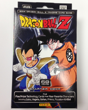 Panini America DBZ Dragon Ball Z TCG CCG Starter Constructed Structure Deck Pack Box
