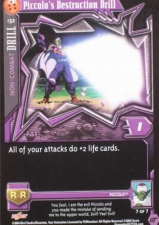 132 Piccolo's Destruction Drill