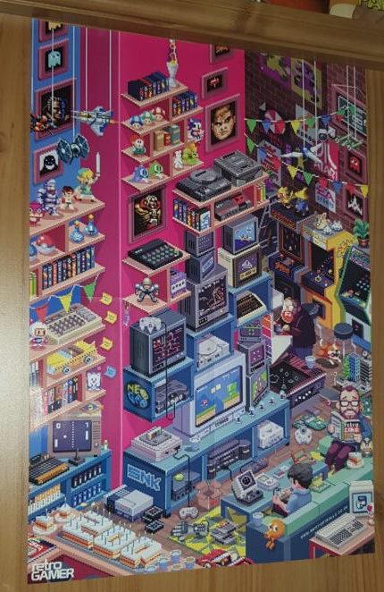 retro gamer 200th poster