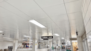 The ceiling systems also needed to meet TTC's requirements for positive and negative air pressure