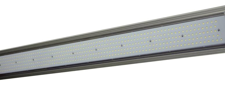 Low-profile LED Light Fixture Replaces 4-foot, Four Lamp Fluorescent ...