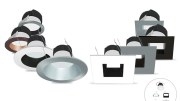 dimmable led under cabinet lights are an inch deep and easily hidden