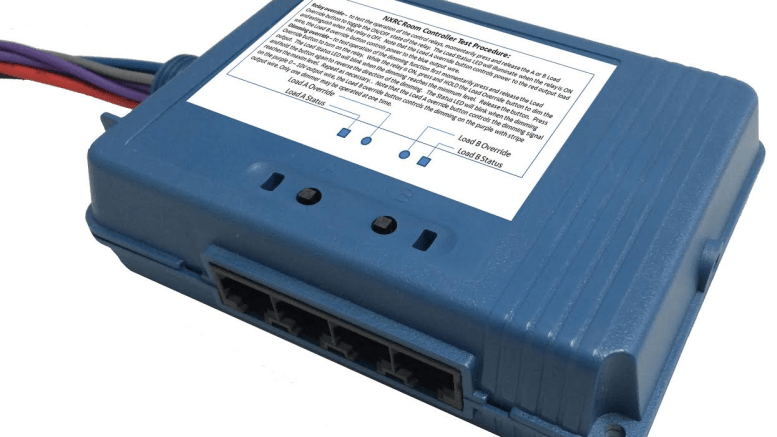 The NX Room Controller from Hubbell Building Automation provides energy-code compliance right out of the box.