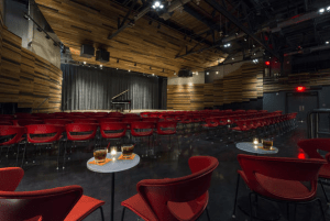 The New Orleans Jazz Orchestra wanted a performance space that architecturally feels more like a jazz club.