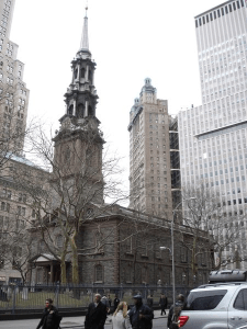 As Manhattan's oldest church, St. Paul's Chapel on Broadway is a historic landmark that was retrofitted with air conditioning using innovative, minimally invasive strategies by the design team at Murphy Burnham & Buttrick Architects, New York. PHOTO: Murphy Burnham & Buttrick Architects