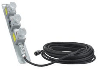 The EPEXC-3X-12.3-30 explosion-proof extension cord from Larson Electronics is designed to extend the reach of equipment in hazardous locations where power receptacles are not in close proximity to the work space.