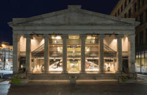 Arcade Providence has been called America's original shopping mall. Built in 1828, the 3-story structure features Greek Revival columns, granite walls and a glass roof.