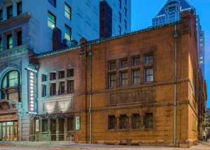 The Chesapeake Shakespeare Co. created its own Globe-style theater this side of the Atlantic in a Baltimore bank building built in 1885.