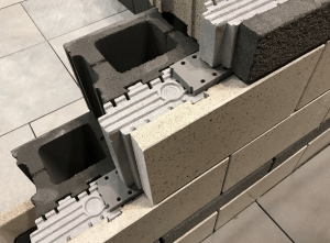 Oldcastle Architectural's Echelon brand announces the InsulTech Concrete Masonry System's Half-High product line as an extension to the full-high product.
