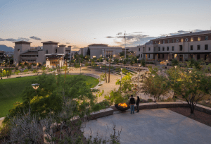 The University of Texas at El Paso Campus Transformation Project received SITES Silver and became the first project certified under v2 of the SITES Rating System. PHOTO: Adam Barbe