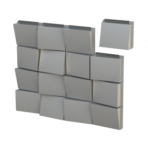 CENTRIA's Intercept modular metal panel system, Intercept RZR, is a rainscreen system that can accommodate a sloped panel depth up to 4 inches and can integrate with Intercept Entyre and Intercept LVLZ for dynamic aesthetics.