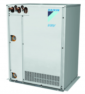 Daikin North America has launched its VRV T-Series Water-cooled condensing units, which provide the same attributes of an air-cooled VRV system, plus the added flexibility for cold-climate applications and buildings with water loops or geothermal applications.