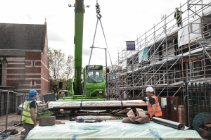 Offsite construction improves efficiency and saves valuable time in scheduling.