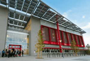 Although solar panels are easy to install on rooftops and on ground mounts, the building envelope itself remains largely untapped—and building integration with photovoltaics represents a tremendous opportunity for the commercial market.
