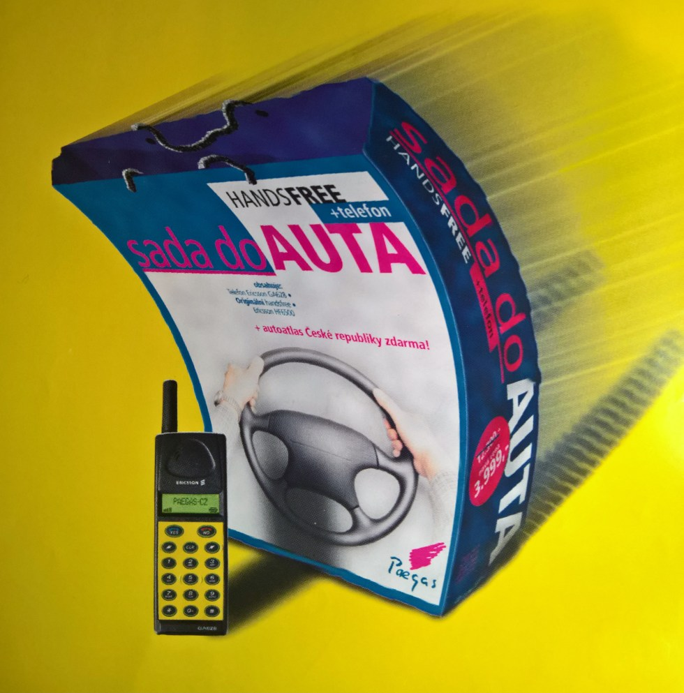 Ericsson GA628 reklama