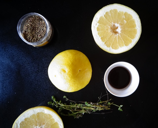 Grapefruit, Thyme and Pepper Cocktail