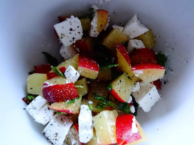 Belle & Sebastian Plum Salad2
