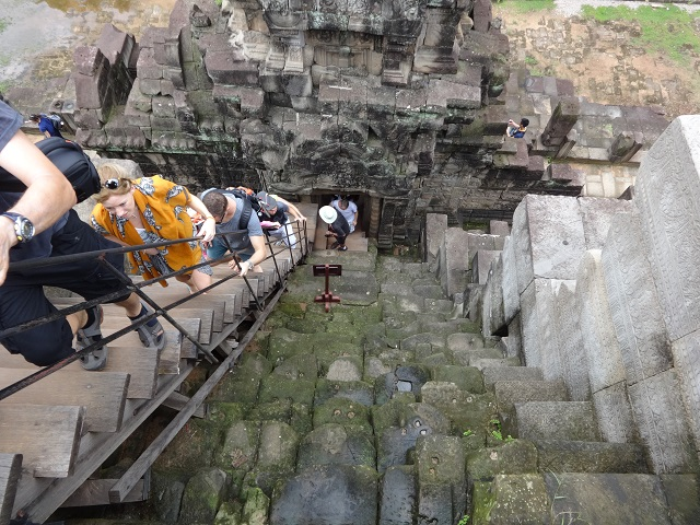 Steps Angkor Wat
