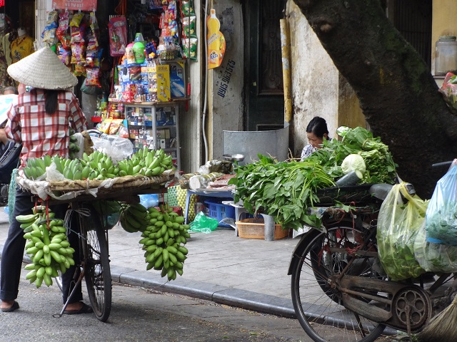 Hanoi Street Sellers