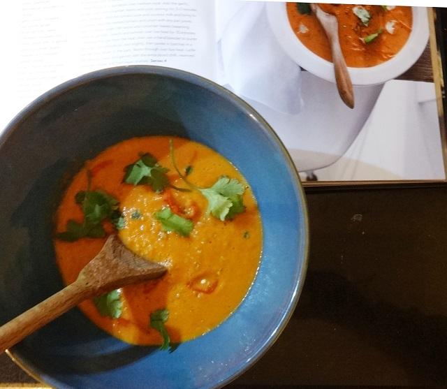 Thai Style Tomato Soup