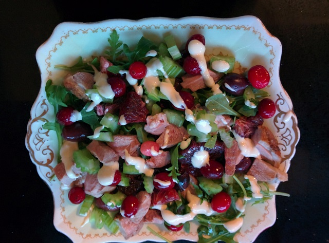 Festive Duck Salad