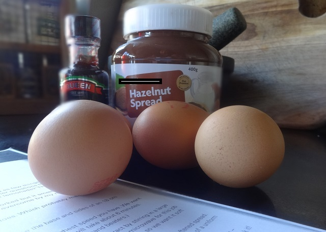 Nutella Cake Ingredients