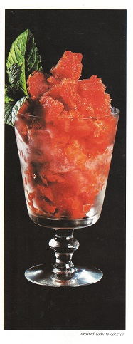 Frosted Tomato Cocktail - Picture