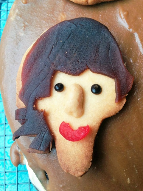 Beatles Cake - George