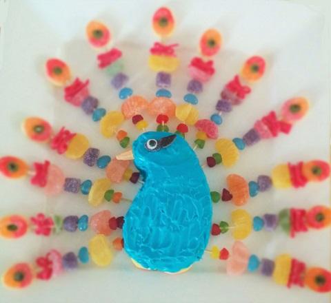 Peacock Cake2