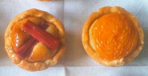 Rhubarb and Apricot Frangipane Tarts2