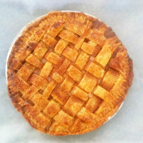 Salted Caramel Apple Pie6