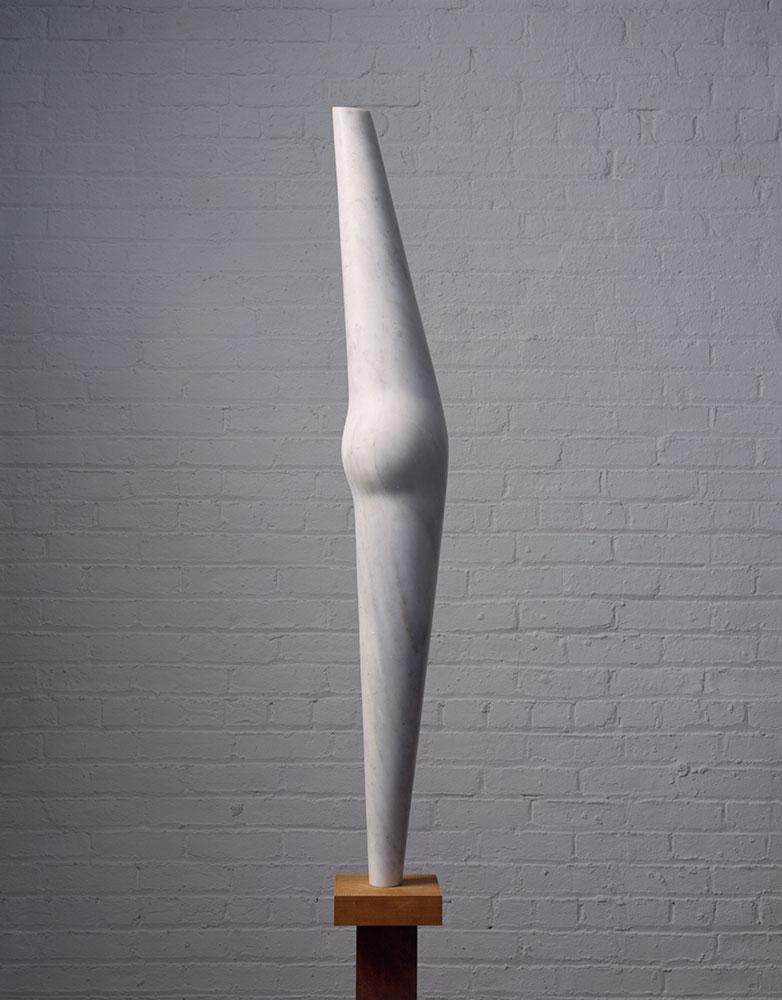 Pregnant Bird, 1958, by Isamu Noguchi (American, 1904–1988). Greek marble