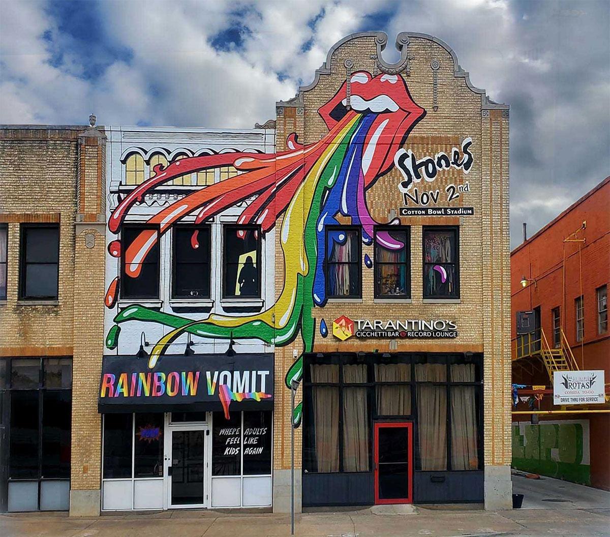 Rolling Stones Mural