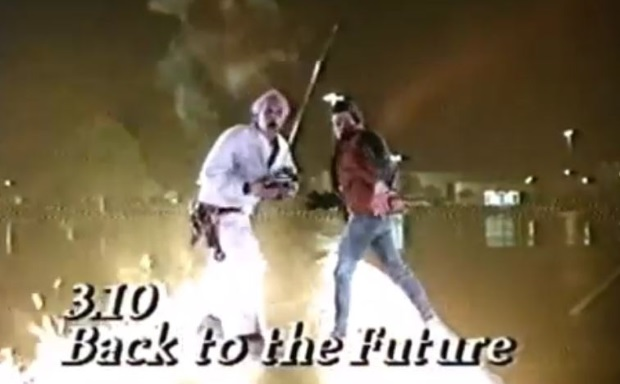Back to the Future Christmas TV Premiere