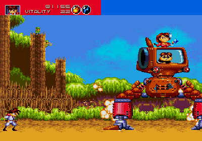 gunstar heroes genesis screenshot 3