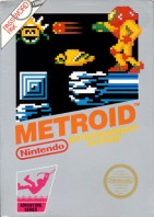metroid nes box art front cover