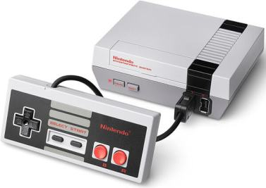 nintendo entertainment system nes classic edition console