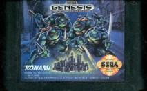teenage mutant ninja turtles the hyperstone heist genesis cartridge
