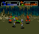 teenage mutant ninja turtles the hyperstone heist genesis screenshot 1