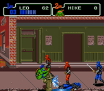 teenage mutant ninja turtles the hyperstone heist genesis screenshot 3