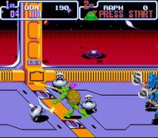 teenage mutant ninja turtles turtles in time snes screenshot 3