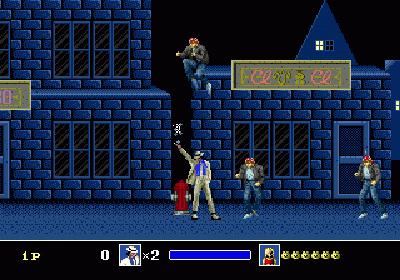 michael jackson's moonwalker genesis screenshot 3