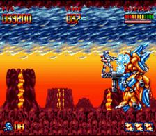super turrican snes screenshot 3