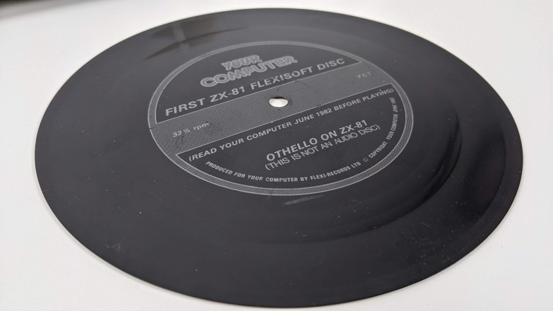 ZX-81 Othello Flexi Disc